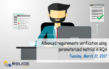 Requirements verification with The Reuse Company