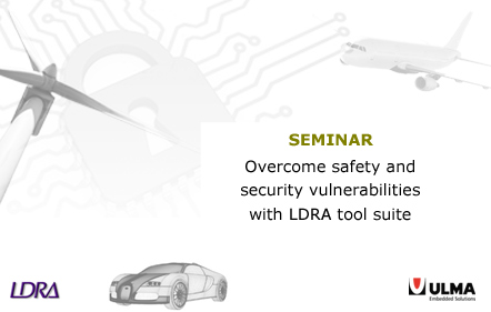 LDRA tool suite to overcome safety and security vulnerabilities