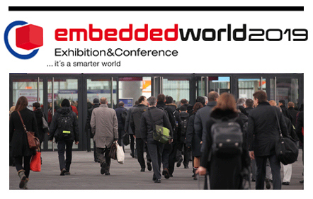 Estaremos en la feria Embedded World 2019