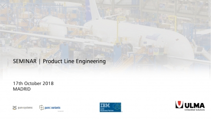 SEMINAR: Product Line Engineering