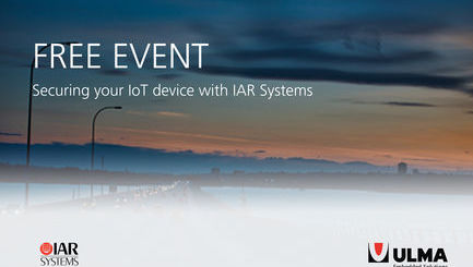 ROADSHOW: Securing your IoT devices with IAR Systems