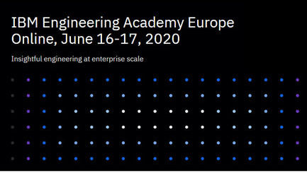 ONLINE - IBM Engineering Academy Europe